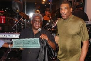 """State Rep. Earnest """"Coach"""" Williams celebrated his 67th birthday with family and friends at Jesse's Restaurant Lounge in Decatur"""