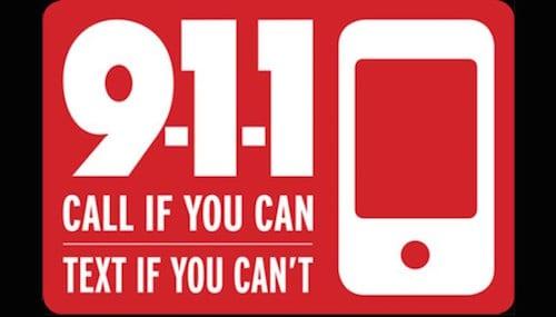 text 911 emergency