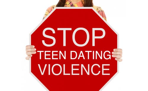 photo: violence in teen dating