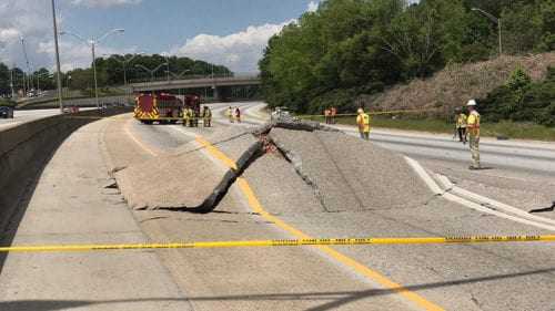 Traffic Being Diverted from Section of I-20 Westbound in