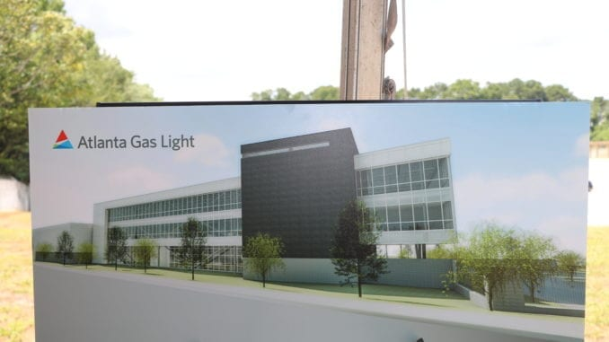 Atlanta Gas Light Business Center Breaks Ground In Dekalb