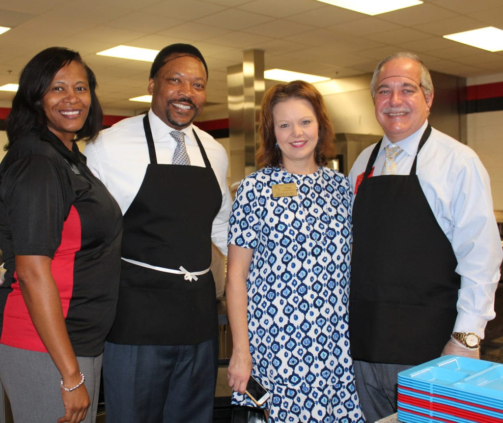 State Superintendent Serves At CMS For National School
