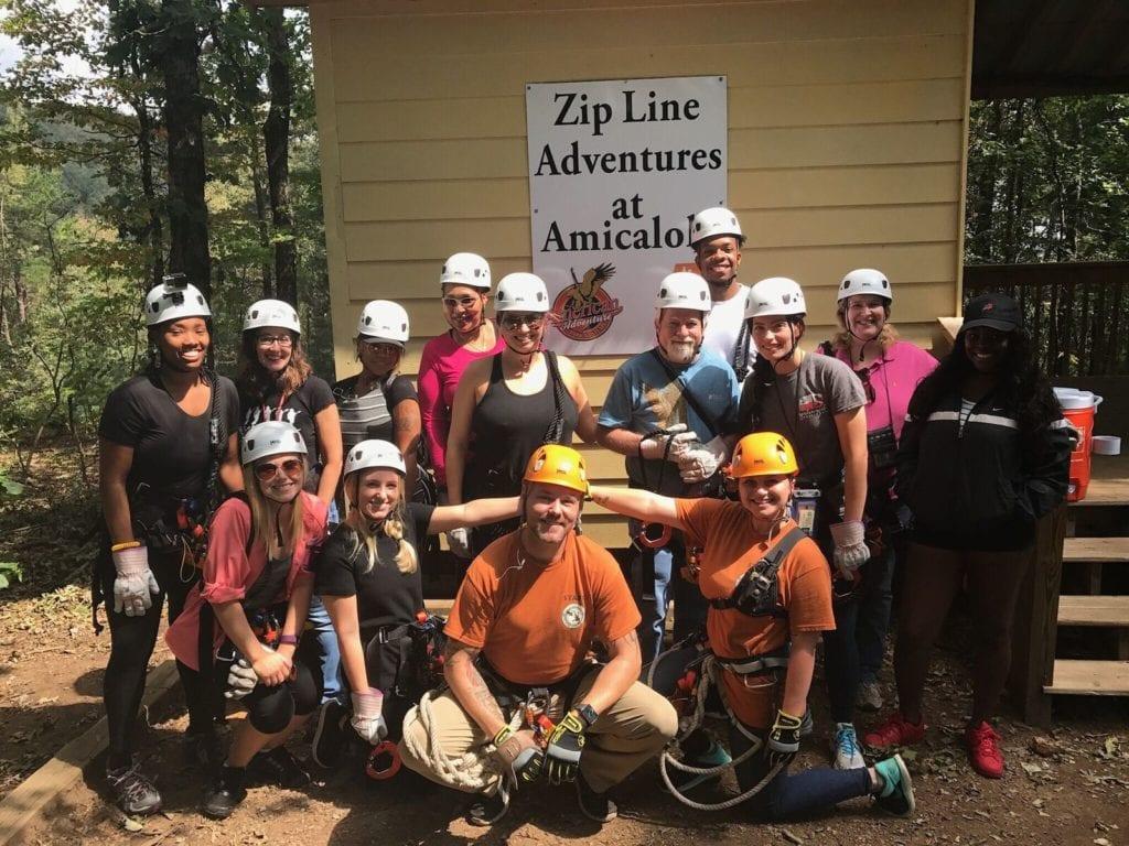 zip group photo