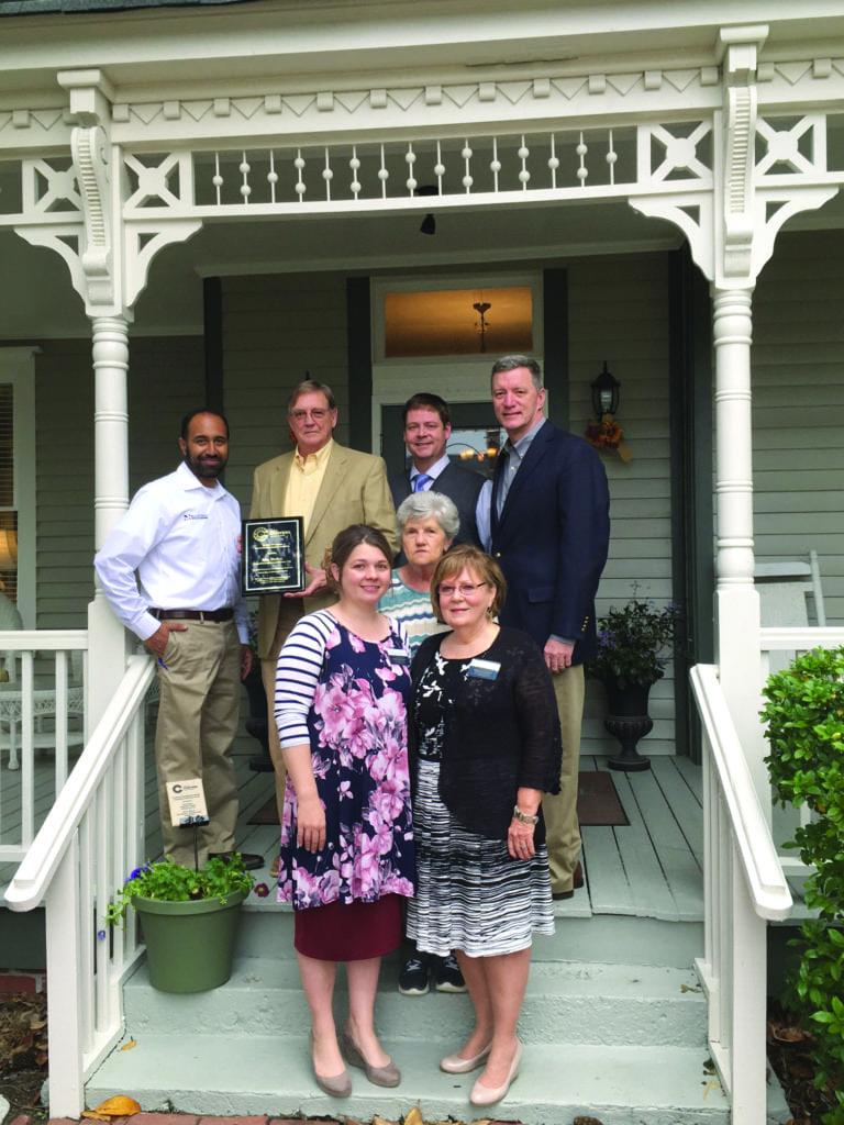 DDA members with Magnolias staff 1
