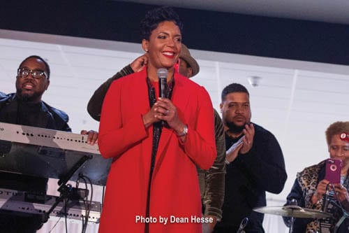 Keisha Lance Bottoms held a citizen's reception at City Hall Atrium in Atlanta on Jan. 2. Photo by Dean Hesse