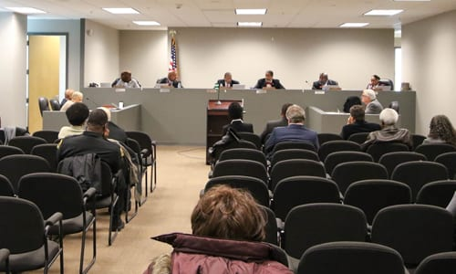 Stonecrest City Council meeting. Photo Travis Hudgons/OCG News