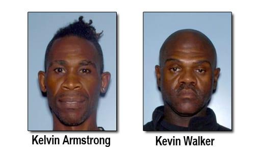 brookhaven_arrest Kelvin Jermain Armstrong and 47-year-old Kevin Walker