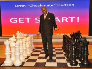 """Orrin """"Checkmate"""" Hudson"""