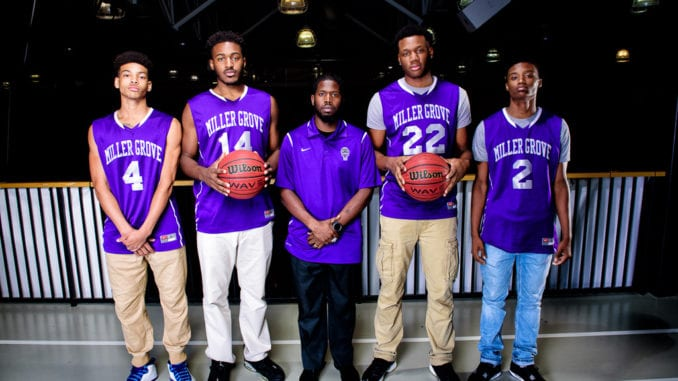 Miller Grove basketball. Photo by Ty Freeman