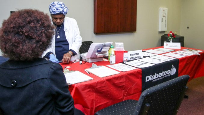 The DeKalb Board of Health hosted its Diabetes Alert Day event on March 27. Photo by Travis Hudgons/OCG News