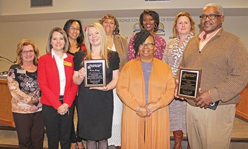 Rockdale School Social Workers Honored With Laura Barnes
