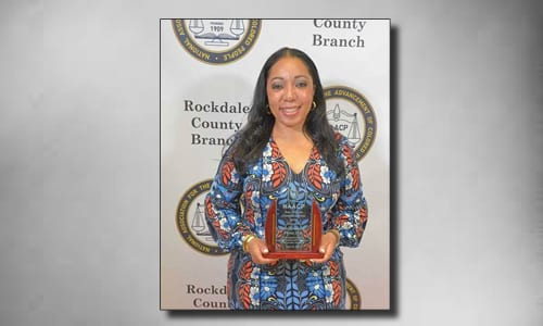 Rockdale NAACP honors Judge Phinia Aten at Freedom Fund banquet