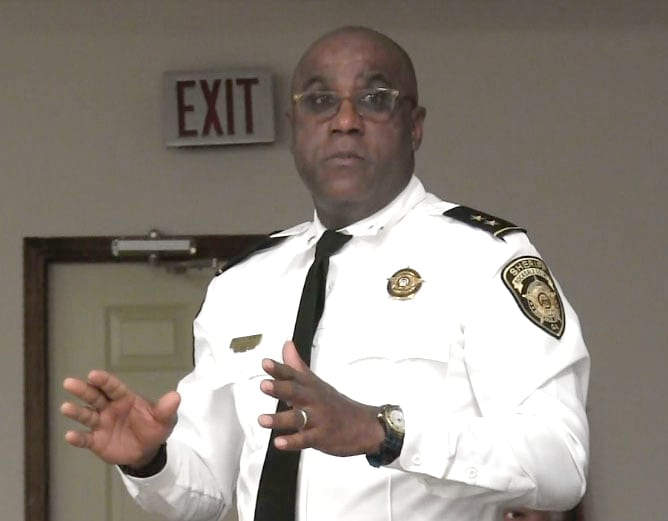 Chief Deputy Dale Holmes, second in command at the Sheriff's Office