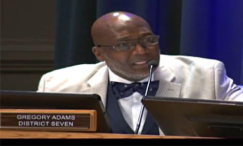 DeKalb Commissioner Gregory Adams