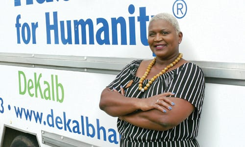 Habitat for Humanity has named a new executive director Sharon Steele