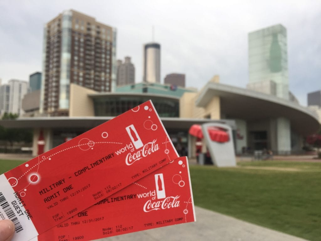 The World of Coca-Cola grants complimentary admission to all military  members (active duty 750b8ee92