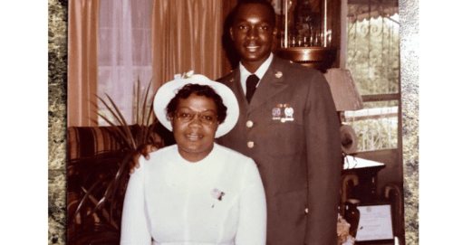 gregory adams and mother