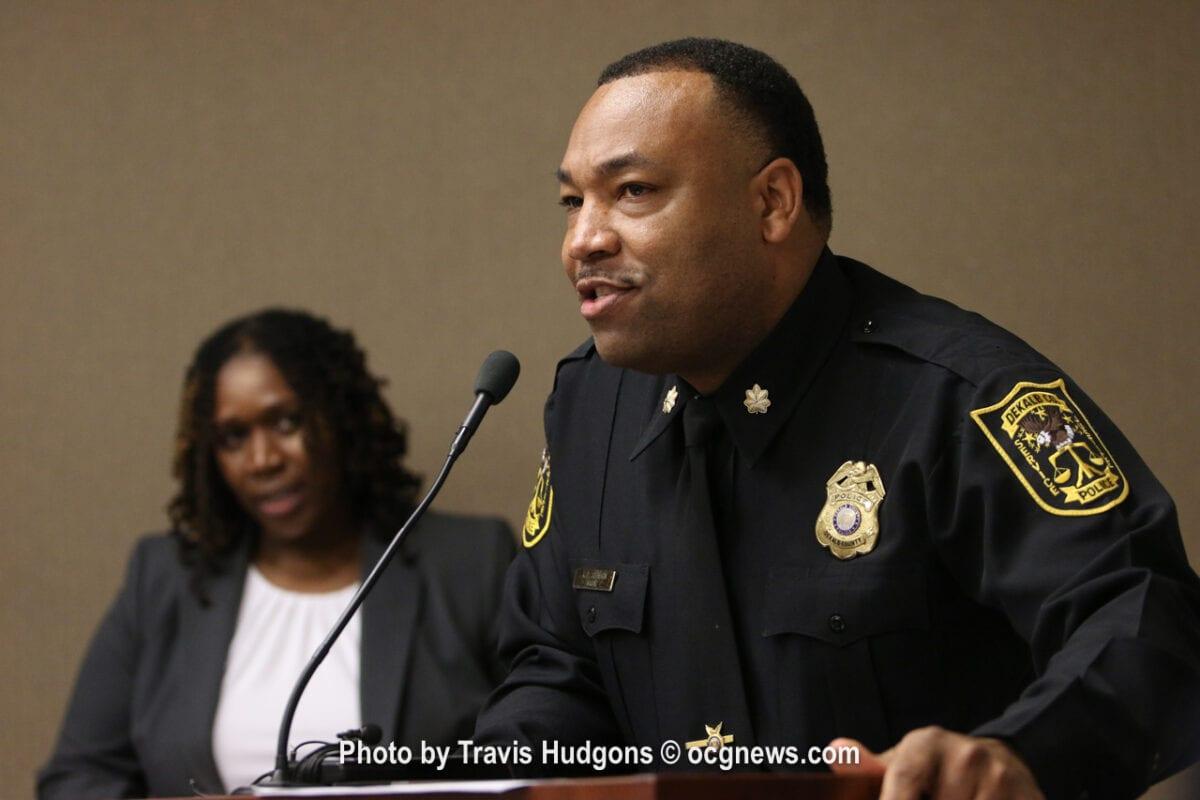 Fallen DeKalb officer receives Officer of the Year award