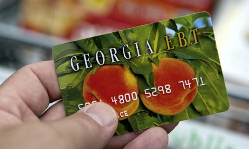DFCS issues monthly food stamp benefits early during partial