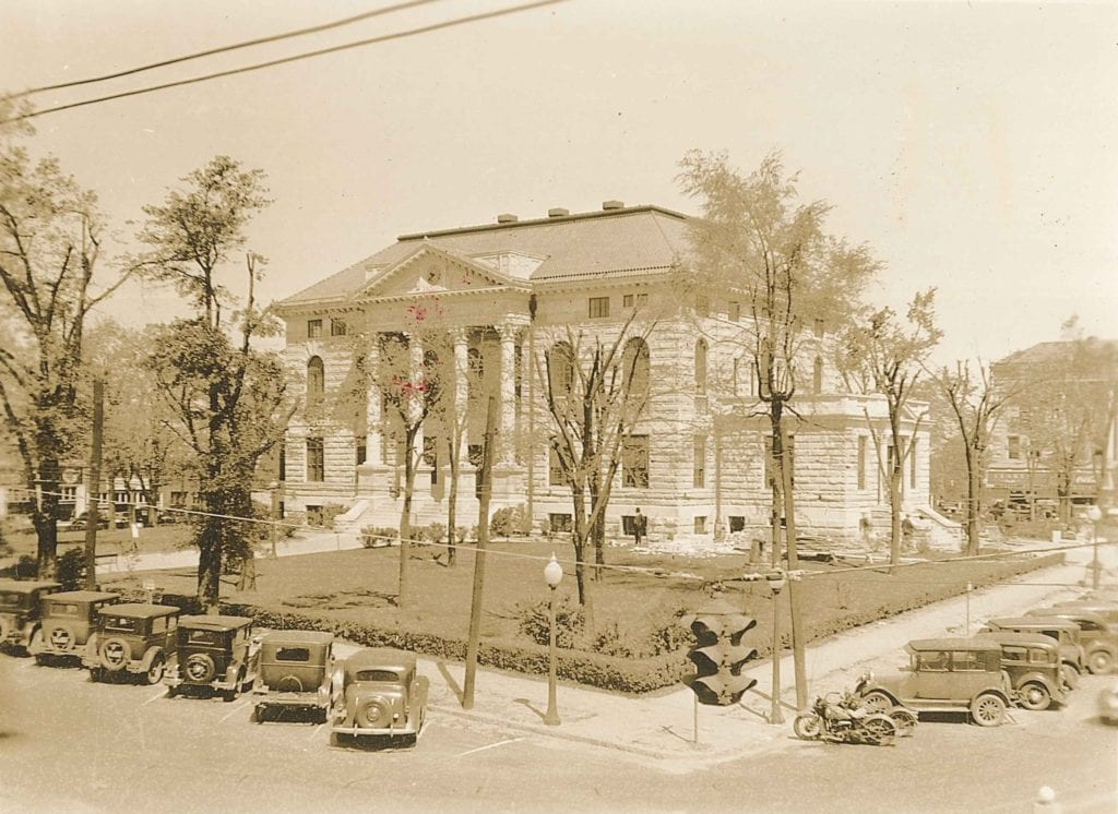 BH Courthouse, ca. 1935 copy