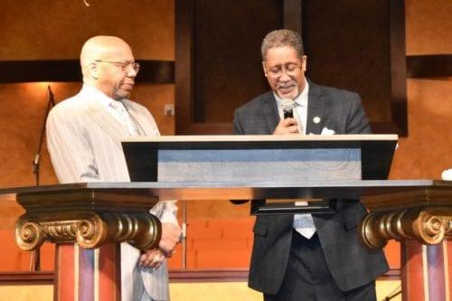 Mayor and Jasper Williams