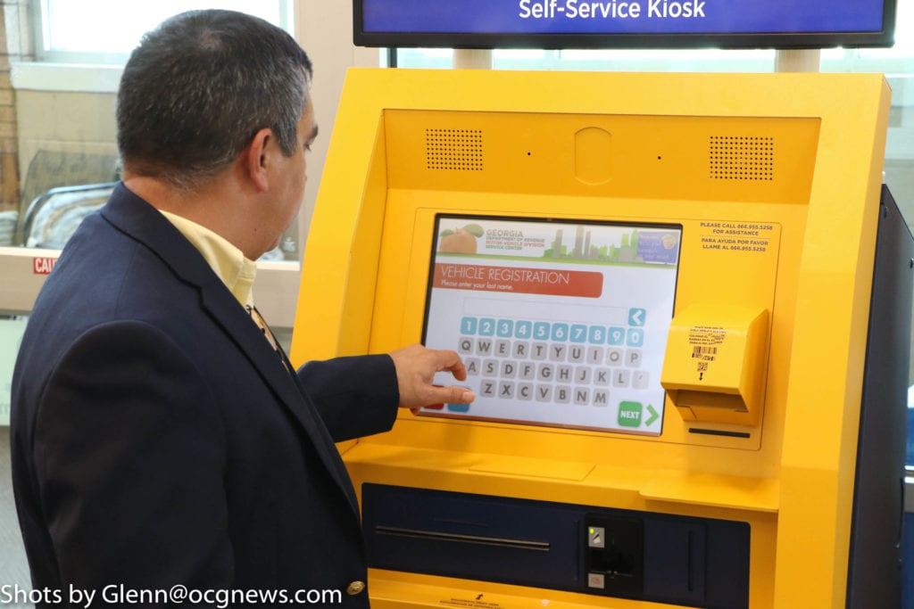 Kroger Covington Ga >> Tag renewal kiosks make renewing tags a breeze for DeKalb ...
