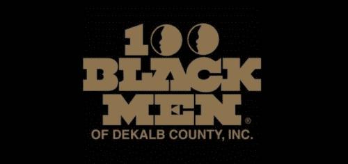 100 Black Men of DeKalb County logo