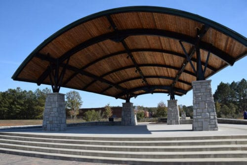 Stage and Bandshell