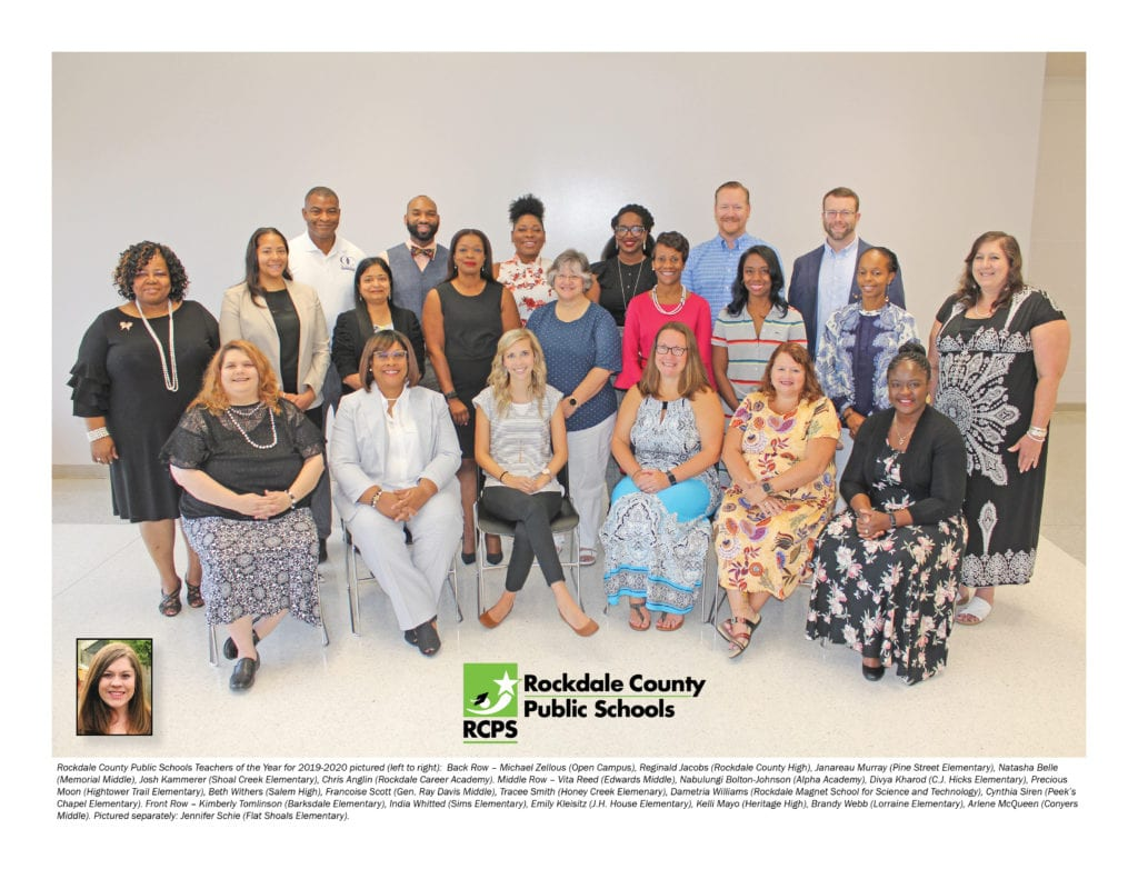 RCPS TOTY group photo