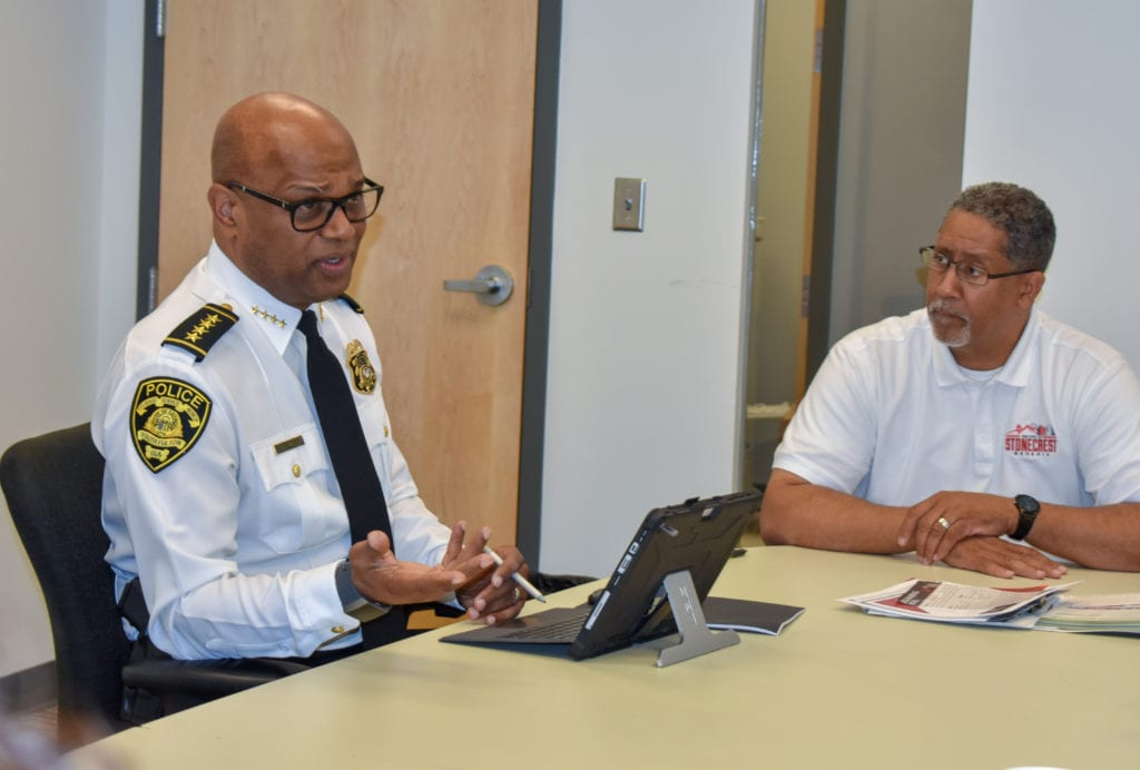 2 Chief Keith Meadows