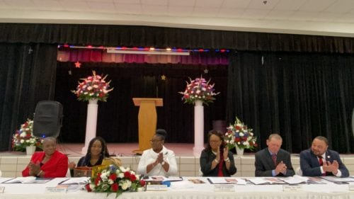 Lithonia Mayor Shameka Reynolds Takes Helm Council Members