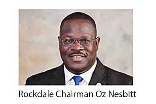 Rockdale Chairman Oz Nesbitt 44